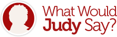 What Would Judy Say? Logo